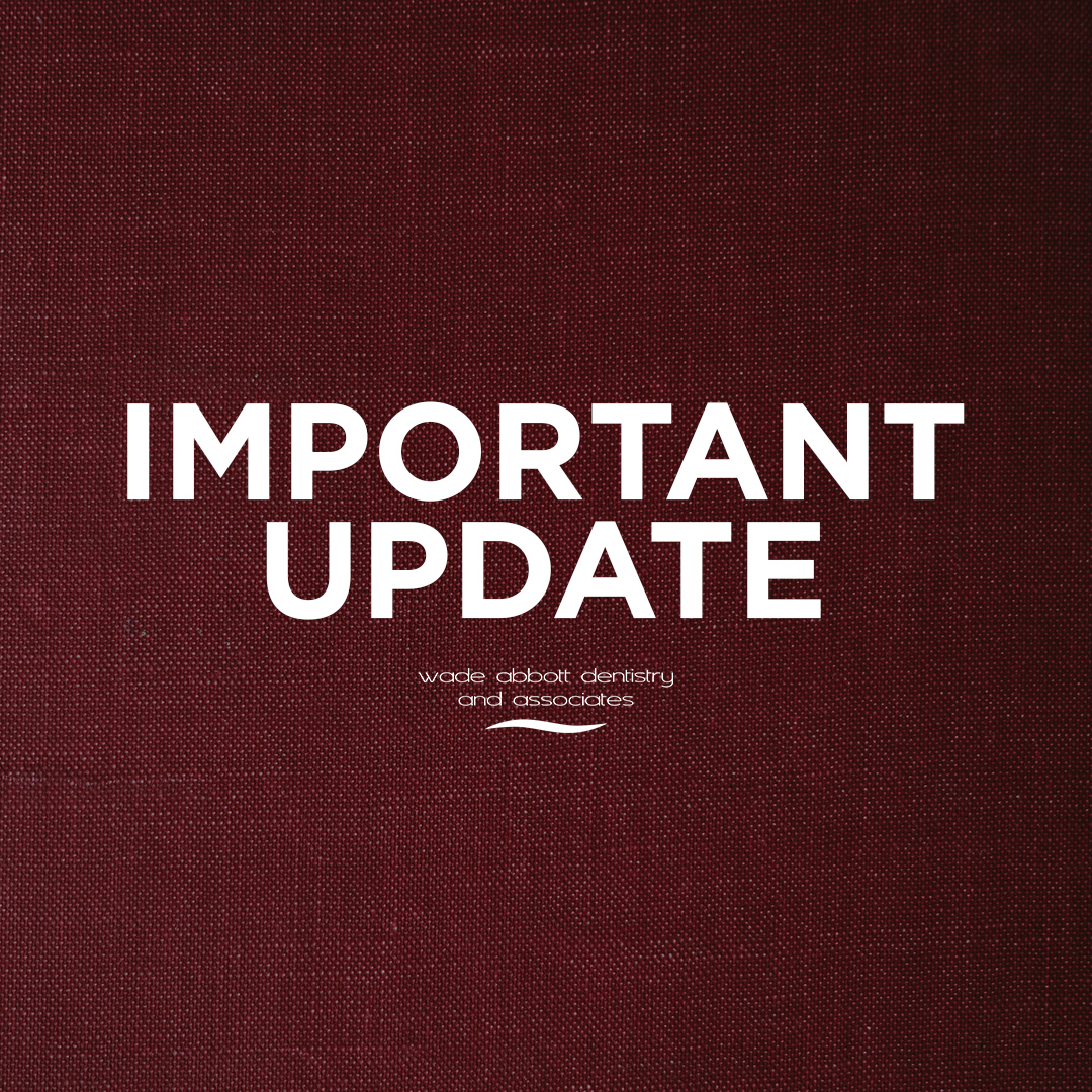 Important Update – COVID 19